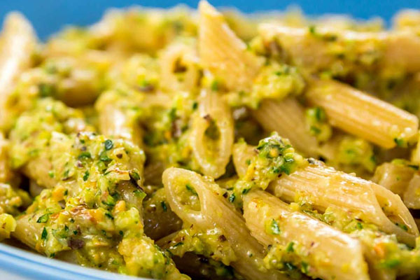 Bronte pistachio and ricotta sauce