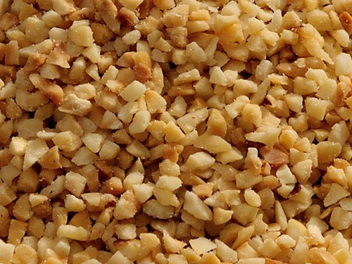 Chopped toasted hazelnuts
