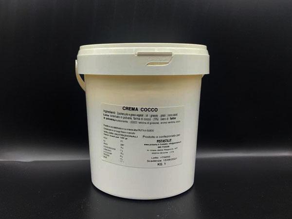 crema di cocco per farciture kg 1