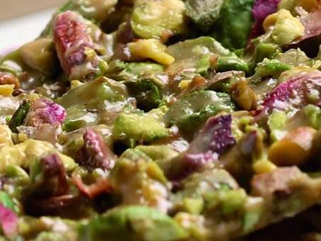 Pistachio crunchy nougat
