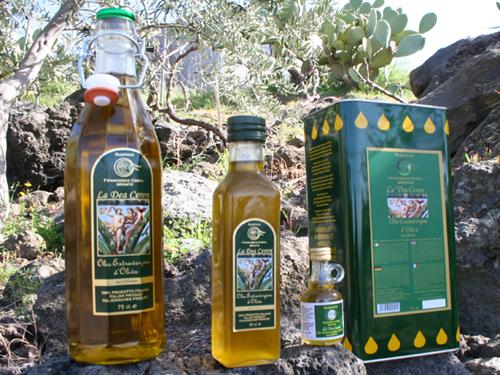 Natives Olivenöl Extra - La Dea Cerere