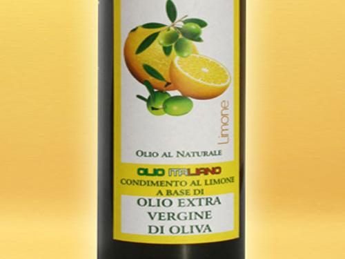 Olio extravergine al limone
