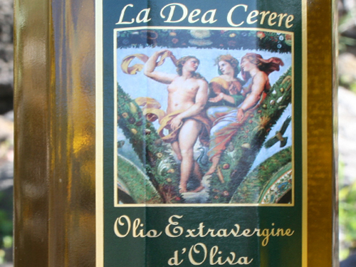 Extra virgin olive oil - La Dea Cerere