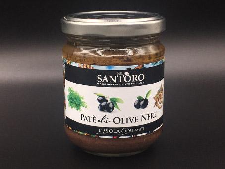 Patè di olive nere e finocchietto