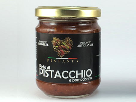 Pistachio and Cherry Tomato Pesto