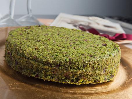 Pistazien-Creme-Torte