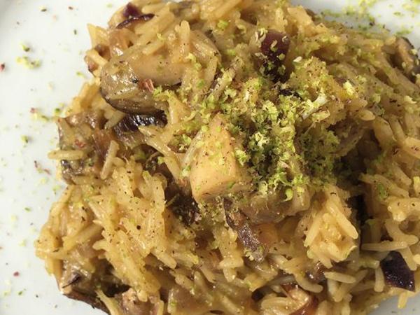 Pesto di Pistacchio e funghi porcini