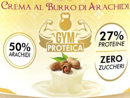 Crema proteica al burro di arachidi