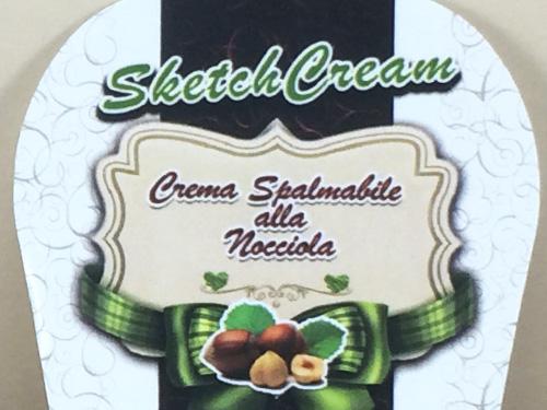 Sketch Cream alle Nocciole