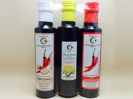 Tris olio extravergine per condimento
