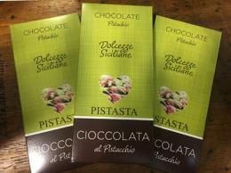 Cioccolata al pistacchio