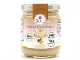 Crema proteica di nocciole
