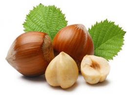 Shelled hazlenuts